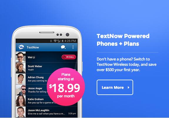 TextNow Wireless