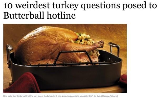 Butterball Screen Shot Turkey Chicago Tribune1